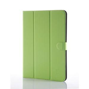 WE H-1050 Etui Universel Tablettes 9''/10'' Tpu 4 Attaches En Silicone Ajustables - Vert