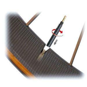 TOPEAK Prolongateur de valve Presta - 4,3 x 0,7 x 0,7 cm