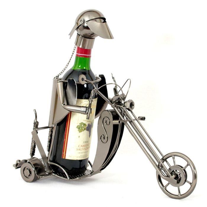 Porte bouteille métal Biker