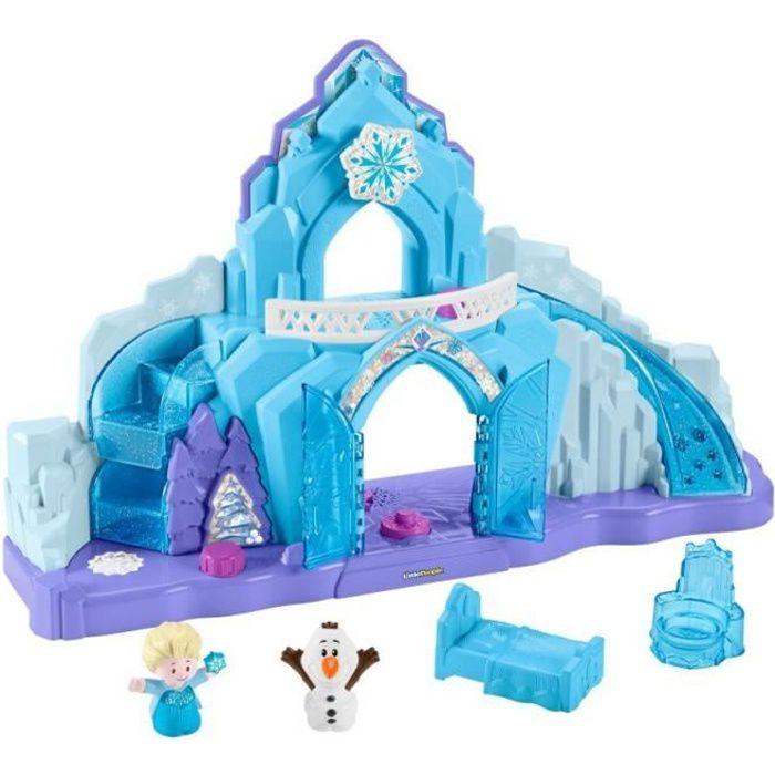 FISHER-PRICE - Little People® - La Reine des Neiges - Le Palais des Glaces d'Elsa - 18 mois et +