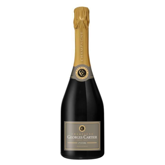 Champagne cartier première cuvée x1