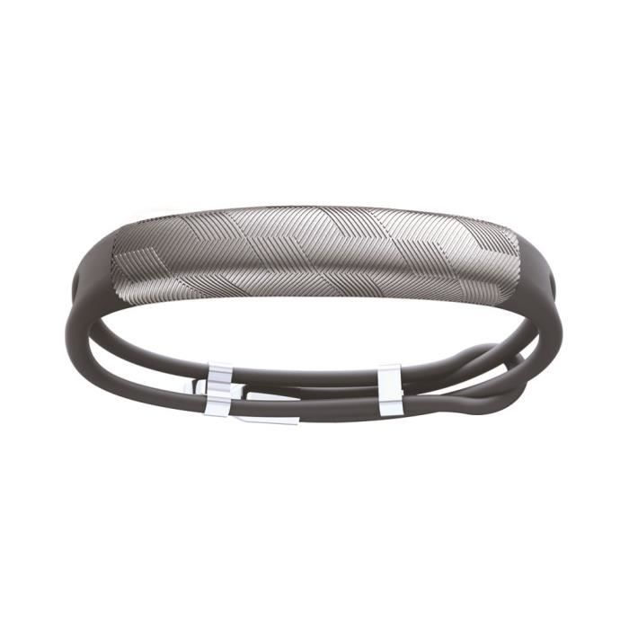 Bracelet Connecté - JAWBONE UP2 Rope Gunmetal Hex