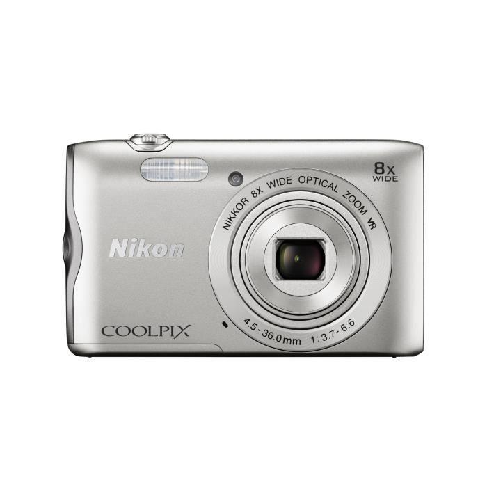 NIKON COOLPIX A300 Appareil photo numérique compact - Silver