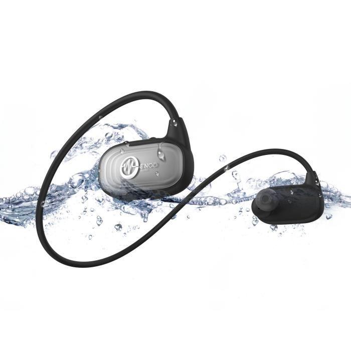 ENOD Ecouteurs natation WAVEPORT - Bluetooth - Gris