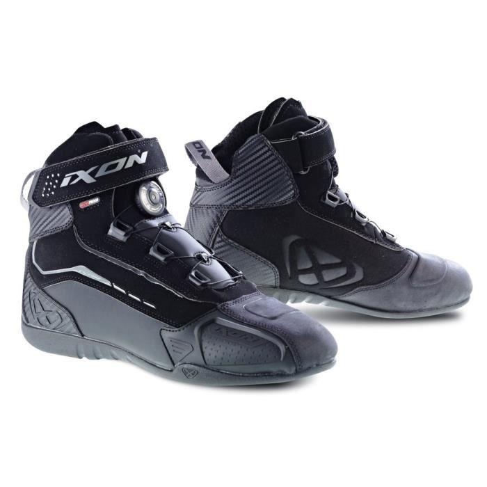 IXON Chaussures de moto Soldier evo - Noir
