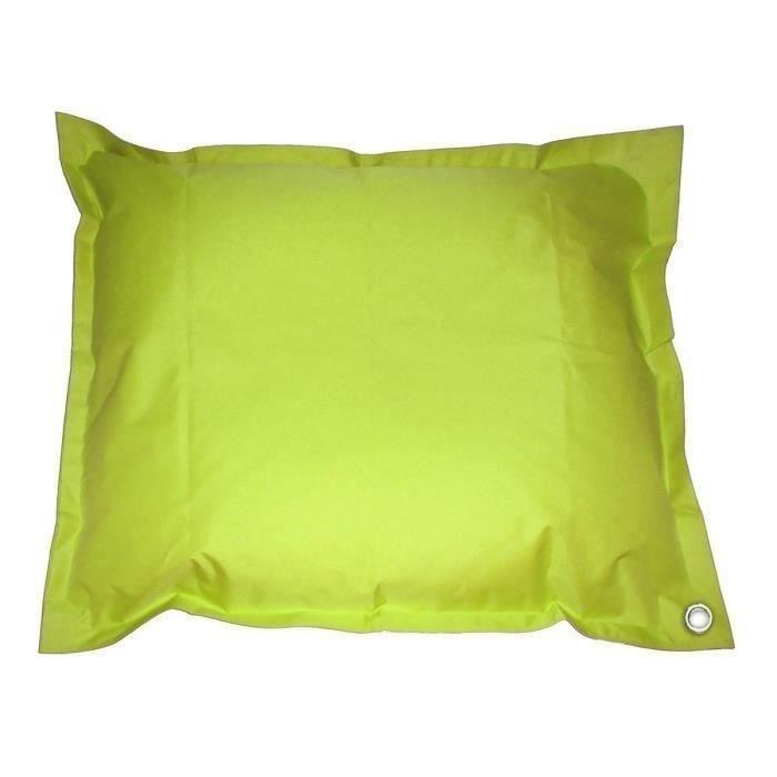 Coussin Pouf imperméable de piscine pool bag XXL 140x180 cm vert