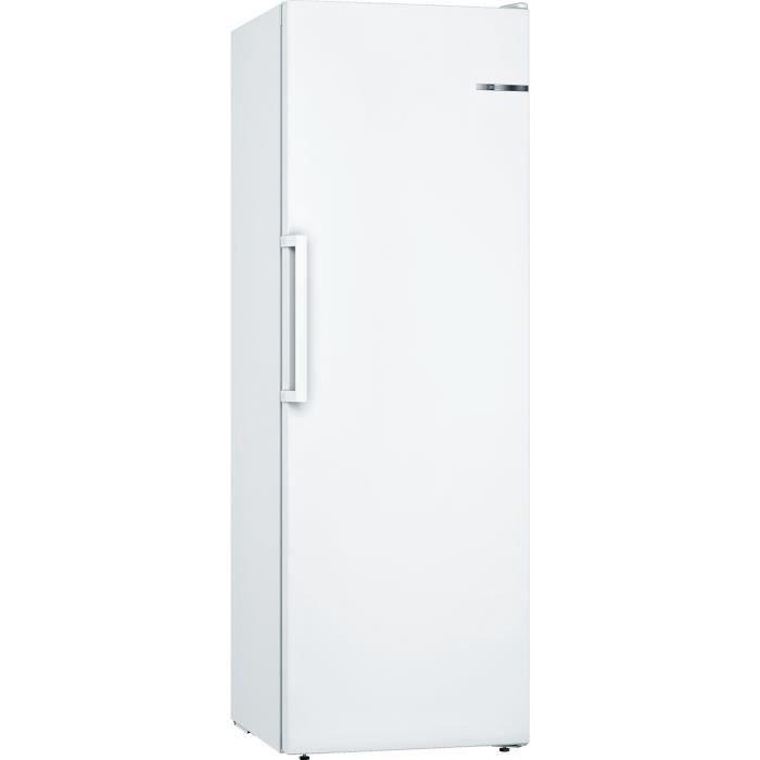 BOSCH GSN33VW3P - Congélateur armoire - 225 L - Froid no frost multiairflow - A++ - L 60 x H 176 cm