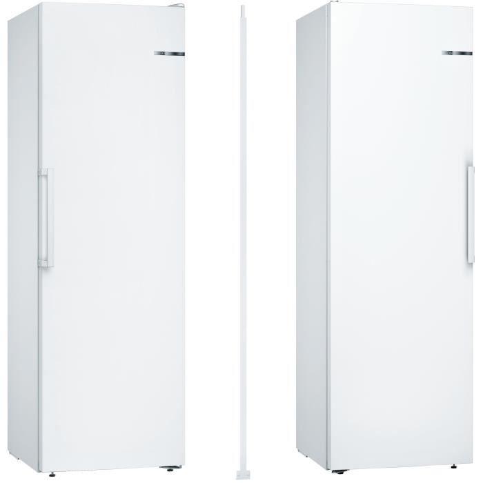 Pack BOSCH - KSV36VW3P - Réfrigérateur 346 L-Froid statique-A++ / GSN36VW3P - Congélateur armoire-24