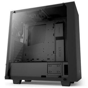 NZXT Boîtier PC S340 - Elite Noir - Moyen Tour - Fen?tre en verre trempé