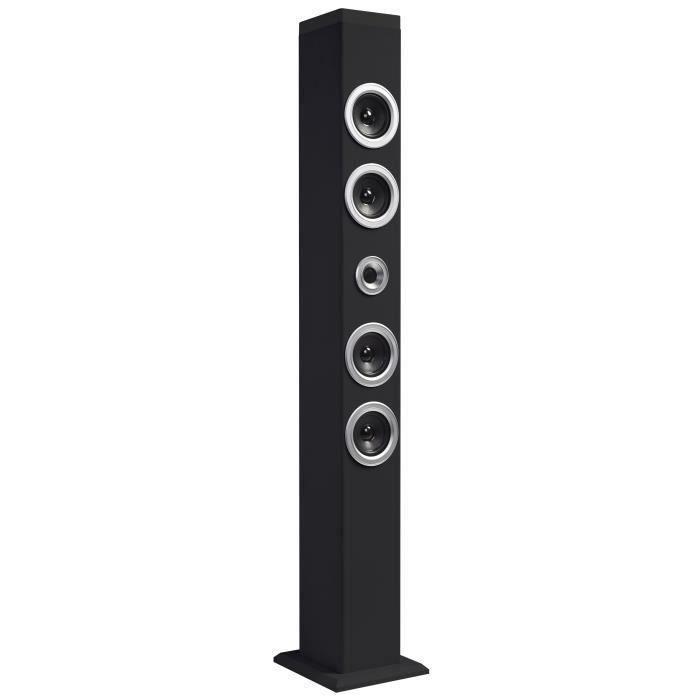 Tour Audio Bluetooth 40 W - 2.1 Stéréo - Fonction Bluetooth 2.1 + EDR - Sortie audio 40W MusicauxENCEINTE NOMADE - HAUT-PARLEUR NOMADE - ENCEINTE PORTABLE - ENCEINTE MOBILE - ENCEINTE BLUETOOTH - HAUT-PARLEUR BLUETOOTH