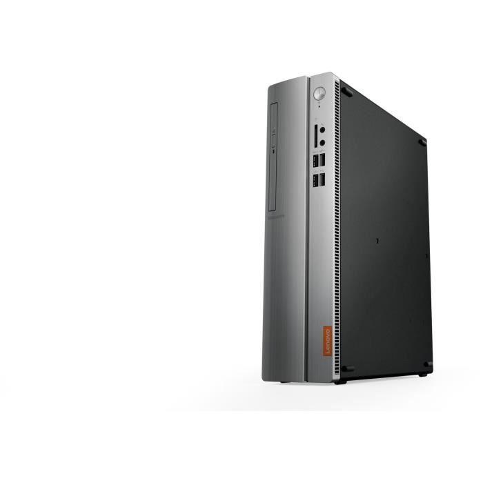 Unité Centrale - LENOVO Ideacentre 310S-08ASR - AMD E2-9030 - RAM 4Go - Disque Dur 1To - Intel HD Graphics - Windows 10