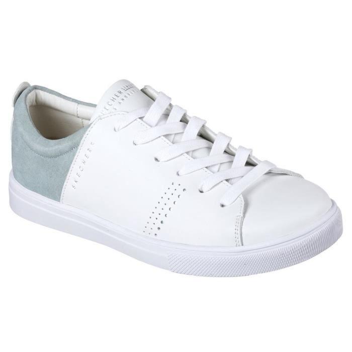 Skechers baskets moda clean street chaussures femme