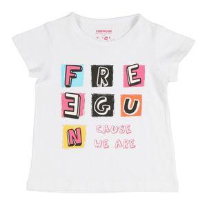 FREEGUN Tee-Shirt Babyz LOO Blanc
