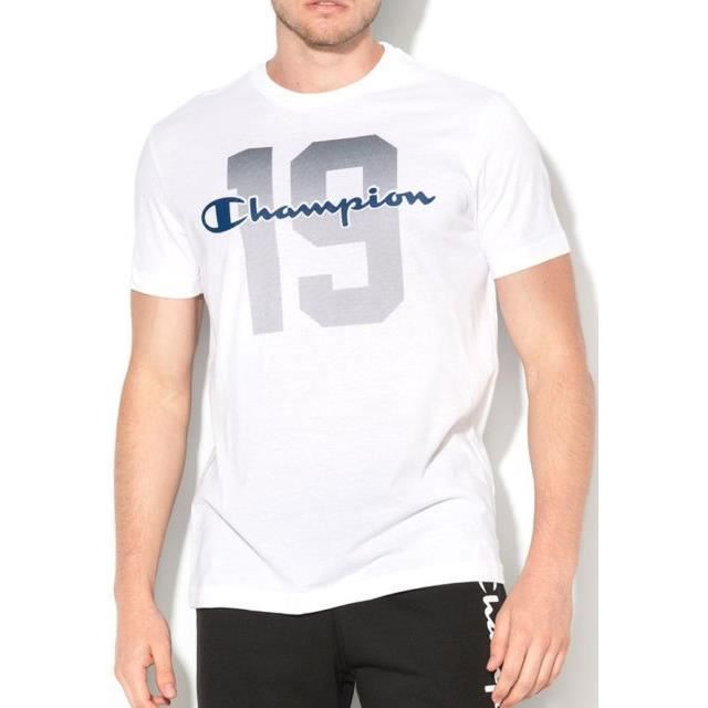 CHAMPION T-shirt 19 - Homme - Blanc