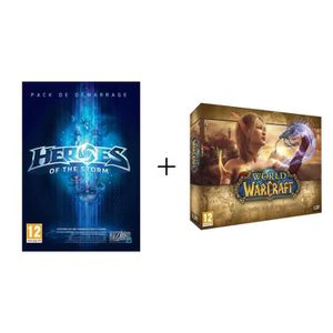 Pack Jeux PC Heroes Of The Storm + World Of Warcraft 5.0