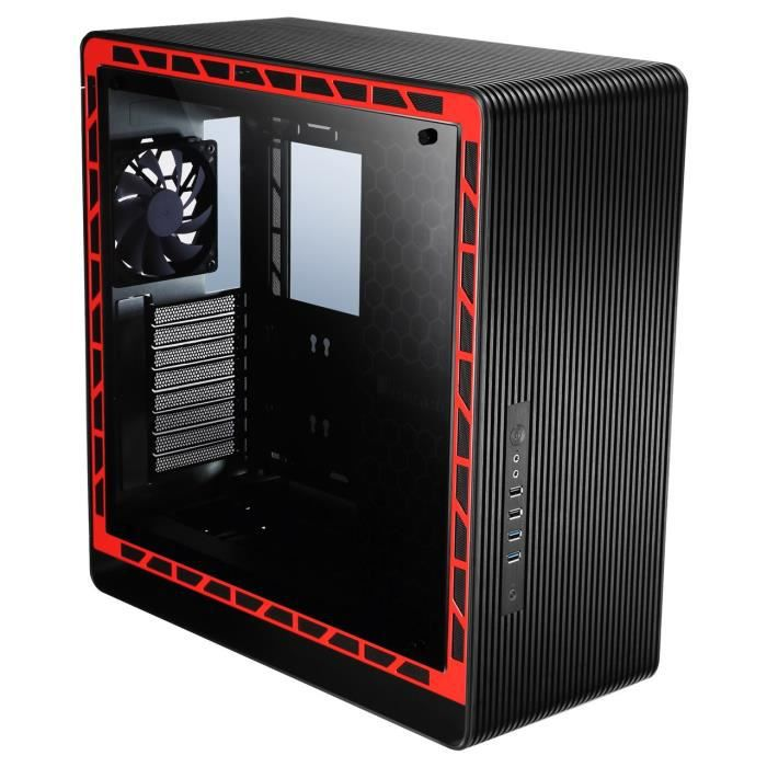 JONSBO Boitier PC (verre trempé) UMX5 Moyen tour ATX Noir