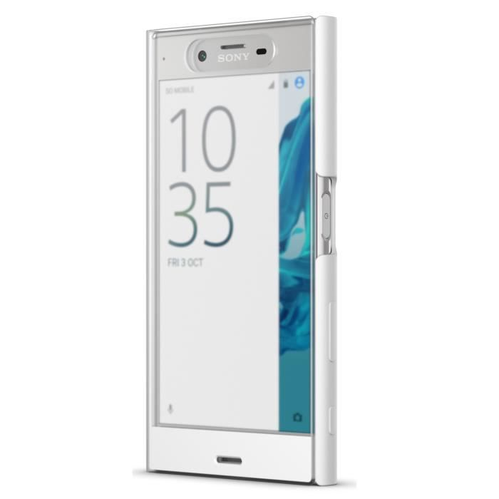 Sony Coque Touch pour Xperia X Compact Blanc