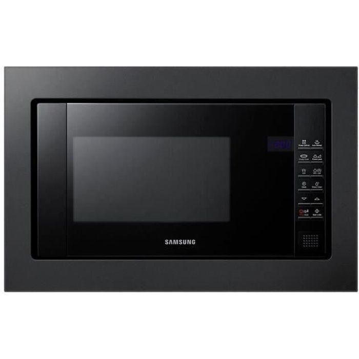 SAMSUNG FG77SUB/XEF - Micro-ondes Gril encastrable 20L Crusty Cook