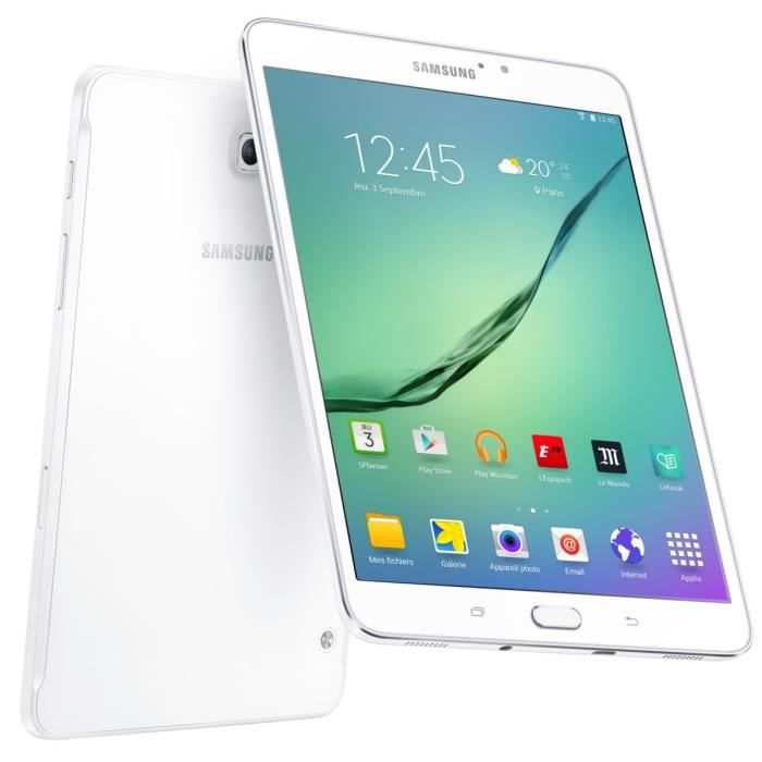 SAMSUNG Tablette tactile Galaxy Tab Active2 - 8 pouces WXGA - RAM 1,5 Go - Android 4.4 (KitKat) - Stockage 16 Go