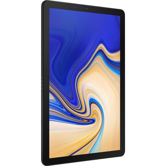 SAMSUNG Tablette Tactile Galaxy Tab S4 - 10,5 pouces - RAM 4Go - Android Oreo 8.1 - Stockage 64Go - WiFi - Noir