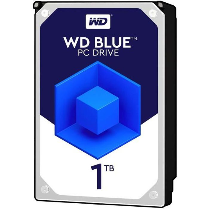 WD Blue 1To 64Mo 3.5 WD10EZRZ