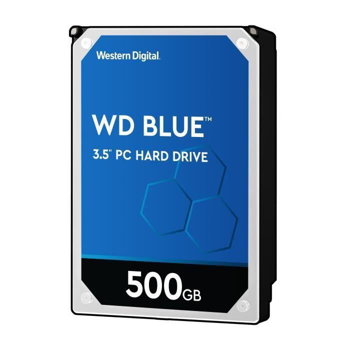 Western Digital HDD Blue WD5000AZRZ - 500Go -64 Mo - 3.5\