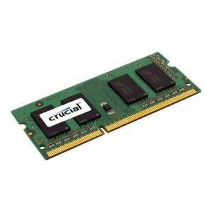 MÉMOIRE RAM CRUCIAL MÉMOIRE PC - DDR3L - 8GB - 1600 - SODIMM -