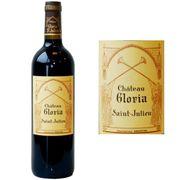 VIN ROUGE Château Gloria Saint Julien 2011 - Vin rouge x1