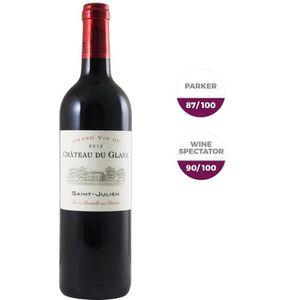 VIN ROUGE Château du Glana AOC Saint Julien 2012 - Vin rouge