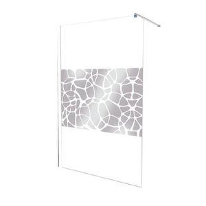 paroi de douche miroir achat vente paroi de douche miroir pas cher cdiscount. Black Bedroom Furniture Sets. Home Design Ideas
