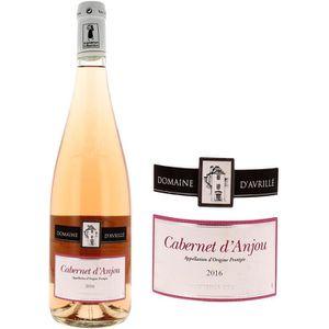 VIN ROSÉ Domaine D'Avrillé Cabernet D'anjou 2016 - Vin rosé