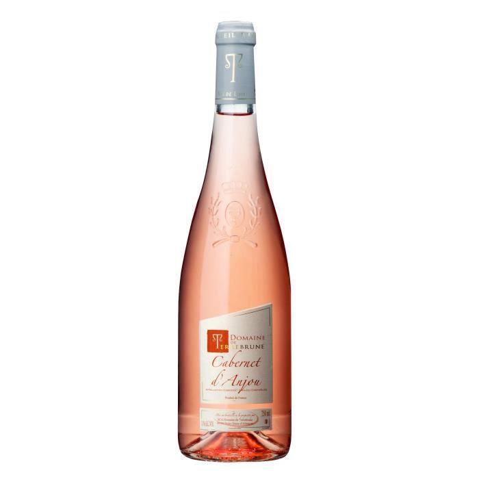 VIN ROSÉ Domaine de Terrebrune 2017 Cabernet d'Anjou - Vin