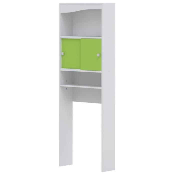 Meuble salle de bain vert achat vente meuble salle de for Ou trouver meuble salle de bain pas cher