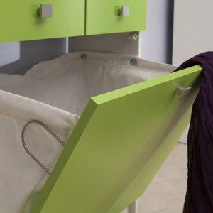 meuble salle de bain avec bac a linge achat vente. Black Bedroom Furniture Sets. Home Design Ideas
