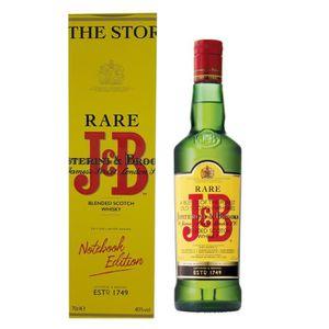 WHISKY BOURBON SCOTCH J&B Rare - Blended Scotch Whisky - 40%vol - 70cl -