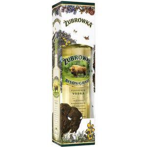 VODKA Zubrowka - Vodka Polonaise à l'herbe de bison - 40