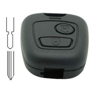 BOITIER - COQUE DE CLÉ Coque de clé compatible PSA 2 boutons