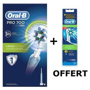 BROSSE A DENTS ÉLEC Pack ORAL B : Brosse à dents électrique rechargeab