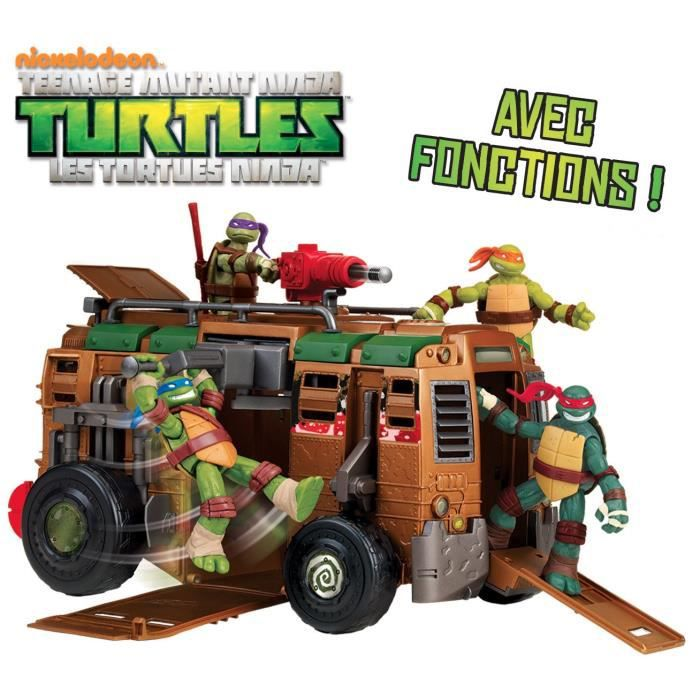 Jeux jouets les tortues ninja achat vente jeux jouets les tortues ninja pas cher cdiscount - Les 4 tortues ninja ...