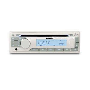 AUTORADIO BATEAU - HAUT-PARLEUR ÉTANCHE MUETA Autoradio Marine Tuner FM - CD/USB/SD/AUX/RD