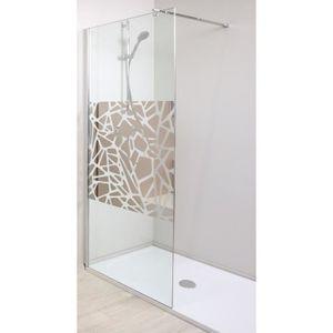 paroi de douche achat vente paroi de douche pas cher cdiscount. Black Bedroom Furniture Sets. Home Design Ideas