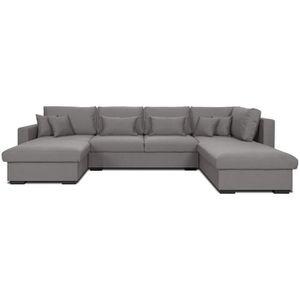 canap en u vente canap panoramique pas cher cdiscount. Black Bedroom Furniture Sets. Home Design Ideas