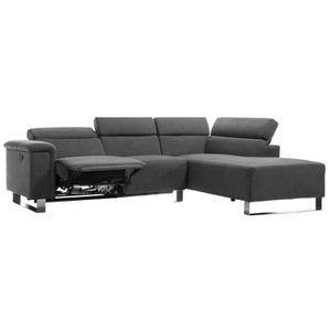 CANAPÉ - SOFA - DIVAN ACHIL Canapé de relaxation électrique angle droit