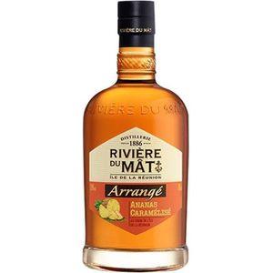 RHUM Rivière du Mât - Rhum Arrangé Ananas - 35% - 70 cl