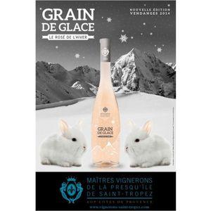 VIN ROSÉ Grain de Glace 2014 Côtes de Provence x6
