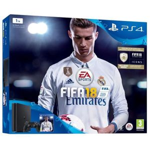 CONSOLE PS4 Nouvelle PS4 Slim 1 To + FIFA 18 Jeu PS4