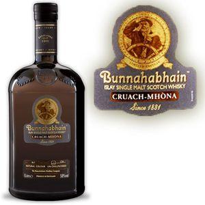 WHISKY BOURBON SCOTCH Bunnahabhain Cruach Mhona 1Litre