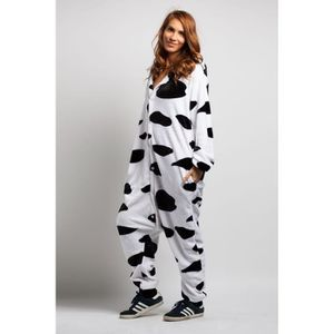 DÉGUISEMENT - PANOPLIE KIGURUMI Pyjama Adulte Vache