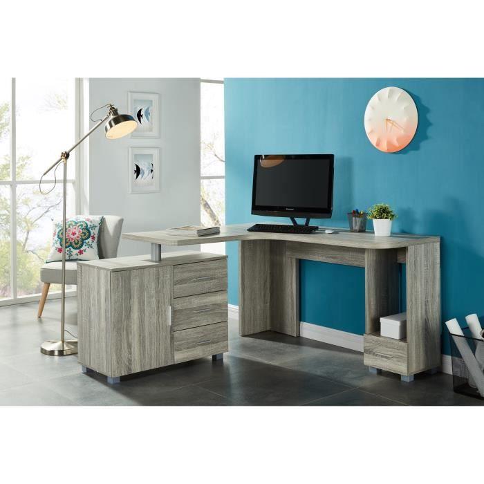 bureau d angle avec tiroir achat vente bureau d angle. Black Bedroom Furniture Sets. Home Design Ideas