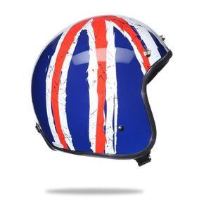 CASQUE MOTO SCOOTER STORMER Casque Jet Pearl Union Jack